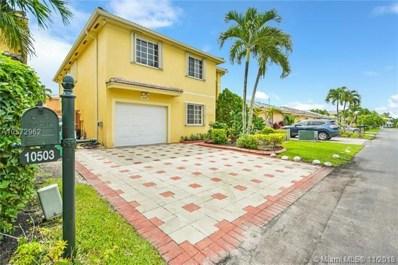 10503 SW 161st Pl, Miami, FL 33196 - MLS#: A10572962