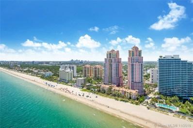 2100 N Ocean Blvd UNIT 17D, Fort Lauderdale, FL 33305 - MLS#: A10573522