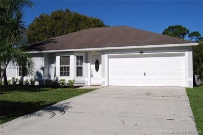 1889 SW Penrose Avenue, Port St. Lucie, FL 34953 - MLS#: A10574137