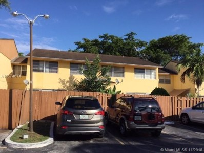 15400 SW 81st Cir Ln UNIT 108, Miami, FL 33193 - #: A10574674