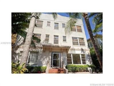1320 Drexel Ave UNIT 203, Miami Beach, FL 33139 - MLS#: A10578152