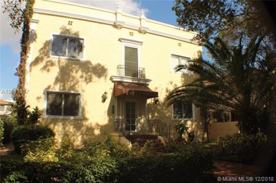 223 Calabria Ave UNIT 5, Coral Gables, FL 33134 - MLS#: A10581157