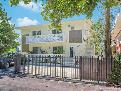 626 Meridian Ave UNIT 6, Miami Beach, FL 33139 - #: A10584075