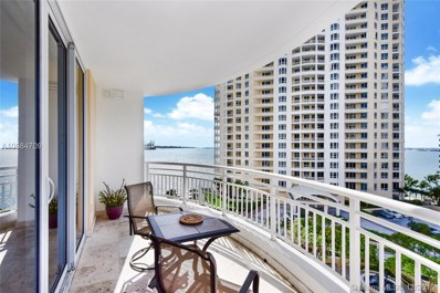 848 Brickell Key Dr UNIT 1003, Miami, FL 33131 - #: A10584709