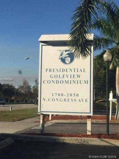 1820 N Congress Ave UNIT 111, West Palm Beach, FL 33401 - MLS#: A10585320