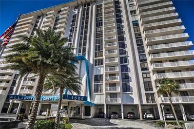 1500 S Ocean Drive UNIT 9I, Hollywood, FL 33019 - MLS#: A10585646