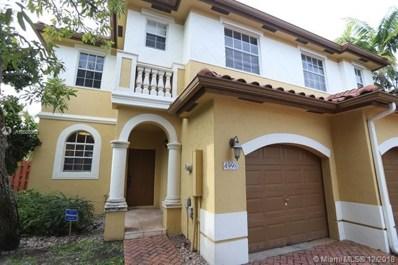4998 SW 135th Ave, Miramar, FL 33027 - MLS#: A10588952