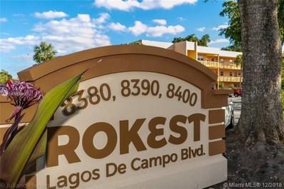 8400 Lagos De Campo Blvd UNIT 305, Tamarac, FL 33065 - MLS#: A10589970