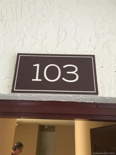 11233 W Atlantic Blvd UNIT 103, Coral Springs, FL 33071 - MLS#: A10591219