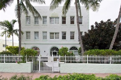802 Euclid Ave UNIT 304, Miami Beach, FL 33139 - MLS#: A10597493