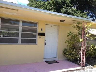 2335 Jackson St UNIT 4, Hollywood, FL 33020 - #: A10598481