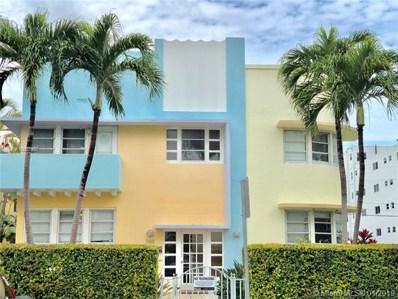 760 Euclid Ave UNIT 201, Miami Beach, FL 33139 - MLS#: A10603957