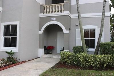 14054 SW 49th St UNIT 20, Miramar, FL 33027 - MLS#: A10603986