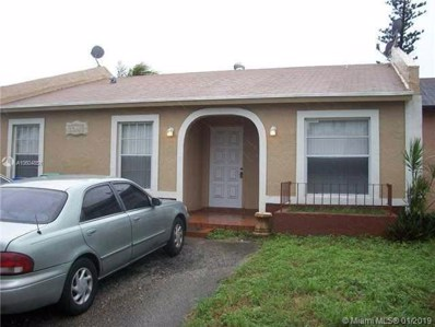 20416 NW 27th Ct UNIT 20416, Miami Gardens, FL 33056 - MLS#: A10604851