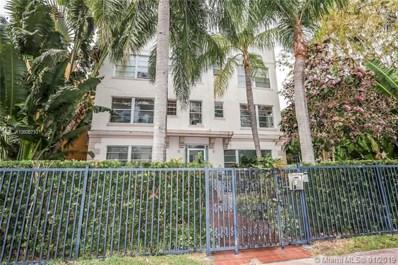 1320 Drexel Ave UNIT 105, Miami Beach, FL 33139 - MLS#: A10606710