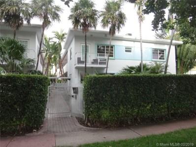 901 Meridian Ave UNIT 101, Miami Beach, FL 33139 - #: A10616076