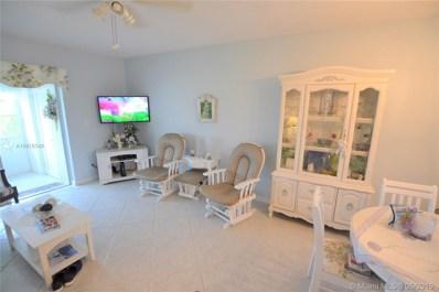 2723 Dudley Dr E UNIT I, West Palm Beach, FL 33415 - #: A10618349