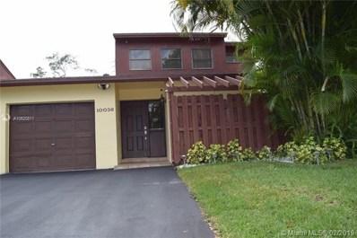 10036 SW 16 Street, Pembroke Pines, FL 33025 - #: A10620811