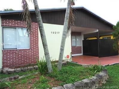 19217 NW 53 Circle Place, Miami Gardens, FL 33055 - #: A10627191