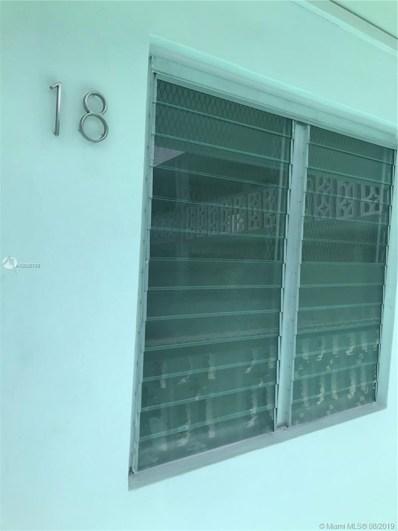 900 6th St UNIT 18, Miami Beach, FL 33139 - #: A10635789