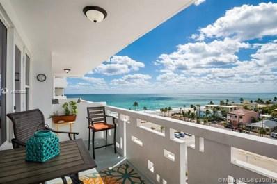 3111 N Ocean Dr UNIT 811, Hollywood, FL 33019 - MLS#: A10636205