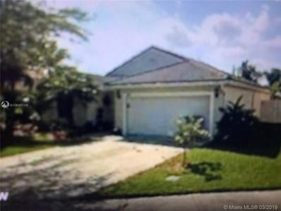 280 NW 166th Ave, Pembroke Pines, FL 33028 - MLS#: A10640114