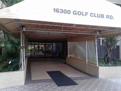 16300 Golf Club Rd UNIT 707, Weston, FL 33326 - MLS#: A10645396