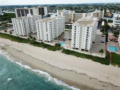 3215 S Ocean Blvd UNIT 401, Highland Beach, FL 33487 - MLS#: A10650713