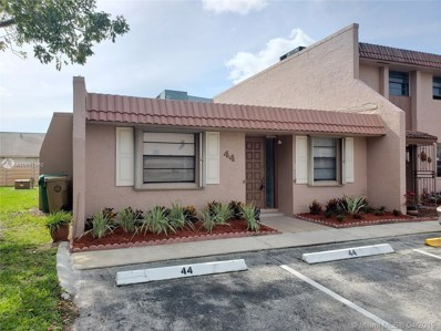44 Cortez Way UNIT 1-40, Davie, FL 33324 - MLS#: A10651360