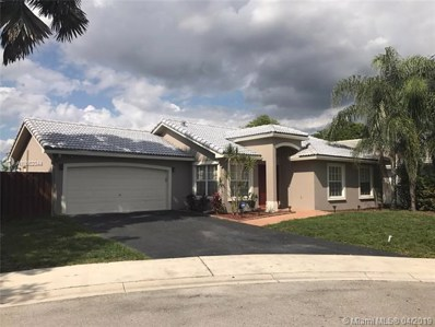 12625 SW 7th Pl, Davie, FL 33325 - MLS#: A10652344