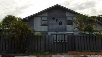 418 N Cypress Dr UNIT B, Tequesta, FL 33469 - MLS#: A10654078