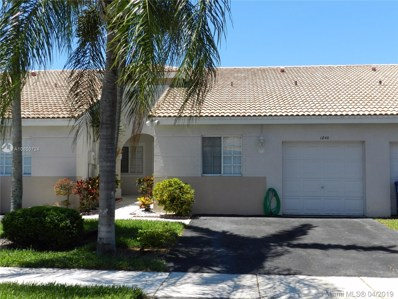 1840 SW 118th Ave, Miramar, FL 33025 - #: A10656724