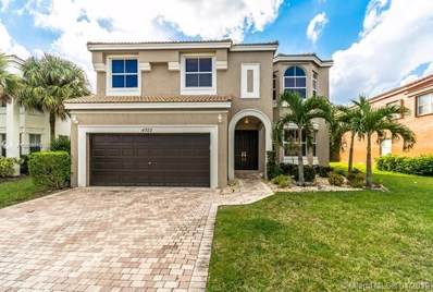 4922 SW 167th Ave, Miramar, FL 33027 - MLS#: A10659813