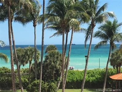 2555 Collins Ave UNIT 401, Miami Beach, FL 33140 - MLS#: A10660724