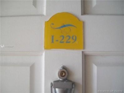 9371 Fontainebleau Bl UNIT I-229, Miami, FL 33172 - #: A10682287