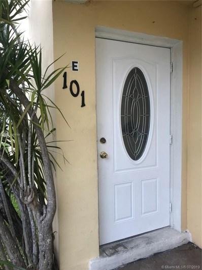 7360 SW 82nd St UNIT E101, Miami, FL 33143 - MLS#: A10684769