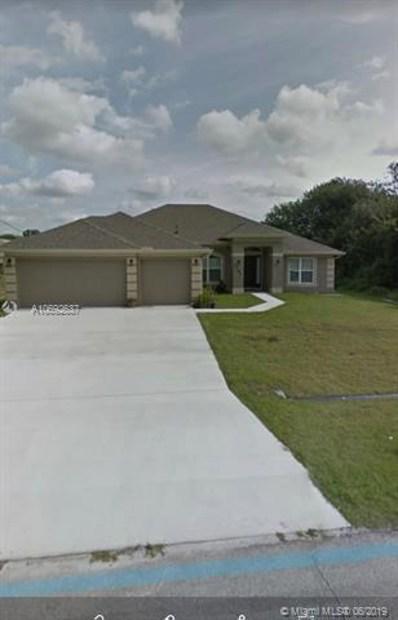 3791 SW Lafleur St, Port St. Lucie, FL 34953 - MLS#: A10692637