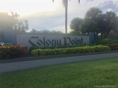 1101 Colony Point Circle UNIT 103, Pembroke Pines, FL 33025 - MLS#: A10704331