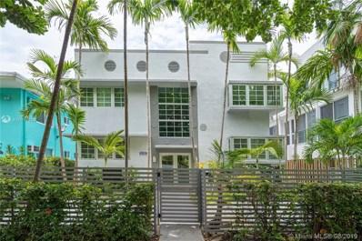 1025 Meridian Ave UNIT 201, Miami Beach, FL 33139 - #: A10711304