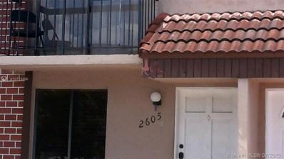 1805 SW 107th Ave UNIT 2605, Miami, FL 33165 - MLS#: A10713456