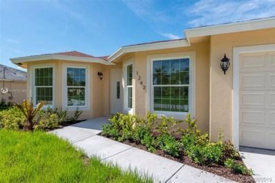 1242 SW Santiago Ave, Port St. Lucie, FL 34953 - MLS#: A10721569