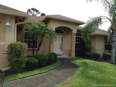 4189 SW Darien St, Port St. Lucie, FL 34953 - MLS#: A10726216