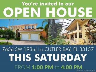 7656 SW 193rd Ln, Cutler Bay, FL 33157 - MLS#: A10727696