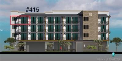 4100 Davie Road UNIT 415, Davie, FL 33314 - #: A10735249