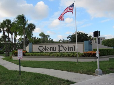 1101 Colony Point Cir UNIT 508, Pembroke Pines, FL 33026 - #: A10748606