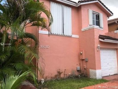 16010 SW 86th Ln, Miami, FL 33193 - MLS#: A10750590