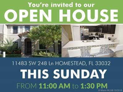 11483 SW 248 Ln, Homestead, FL 33032 - MLS#: A10751355