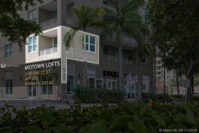 3180 SW 22nd St UNIT 205, Miami, FL 33145 - MLS#: A10752857