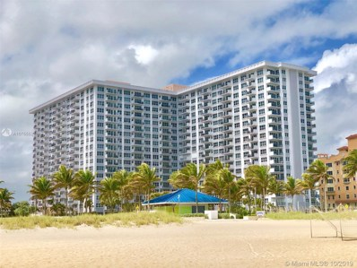 405 N Ocean Blvd UNIT 615, Pompano Beach, FL 33062 - #: A10755523