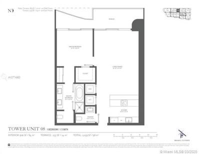 1000 Brickell Plaza UNIT 2808, Miami, FL 33131 - MLS#: A10774980